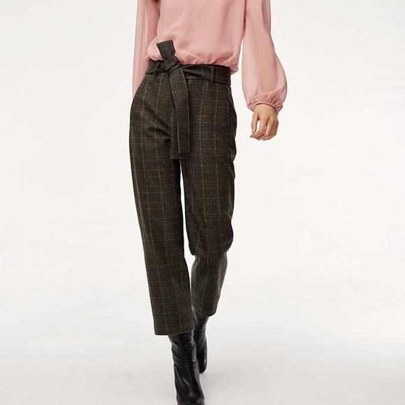 Wilfred Aritzia Jallade Tie Front Pant